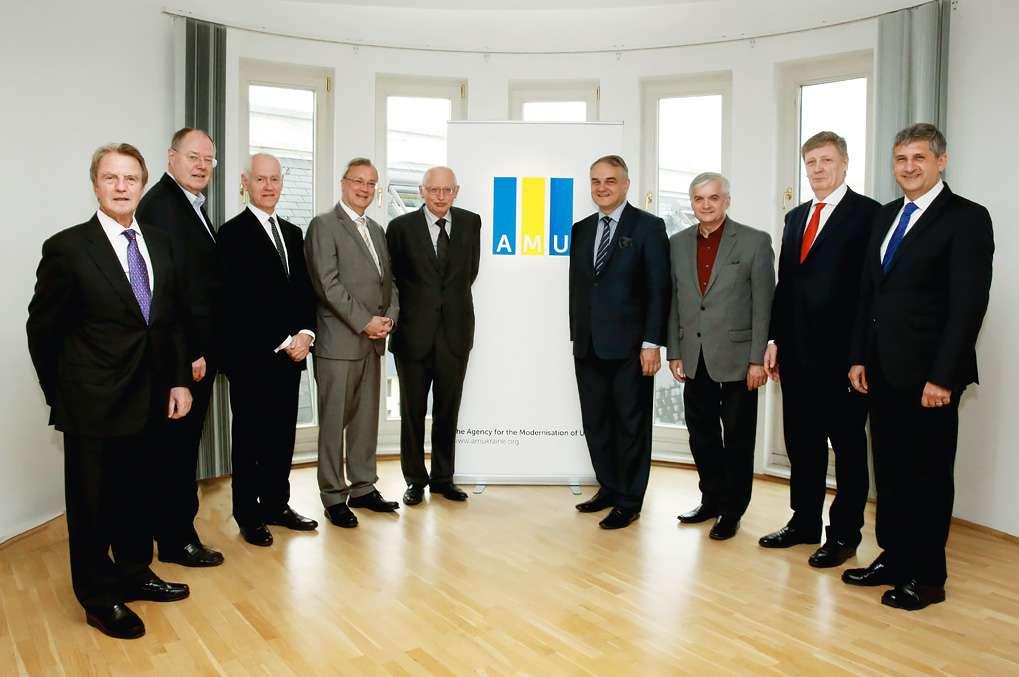 Команда АМУ починає роботу над Програмою модернізації України